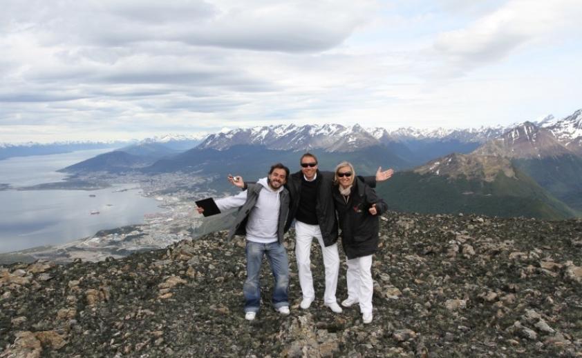Aterrizaje en los Andes (Cima de la cordillera de Los Andes)