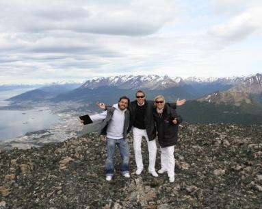 Aterrizagem nos Andes (Em cima das Cordilheiras dos Andes)