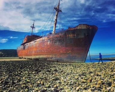 Cabo San Pablo e Estância Rolito